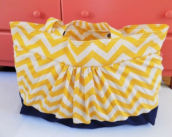 Large Beach Bag, Water resistant lining