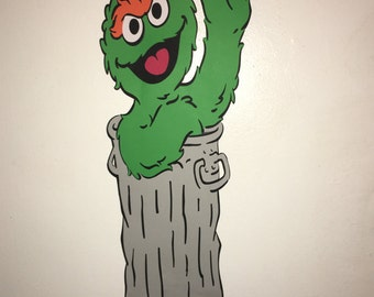 Oscar The Grouch wall/table decor