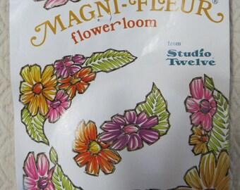 Magni-Fleur Flower Loom, Studio Twelve, 1970, Vintage