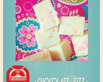 Chocolate Fizz- Homemade Fudge