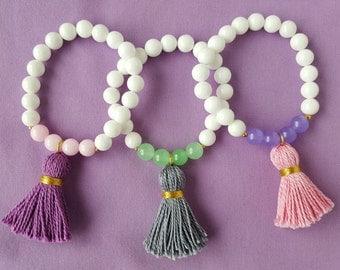 Jade Tassel Bracelet