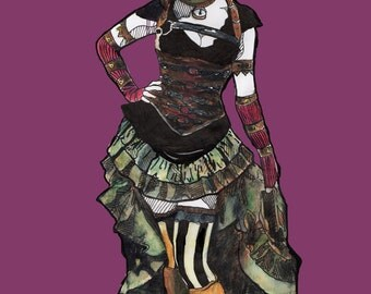 Steampunk Print