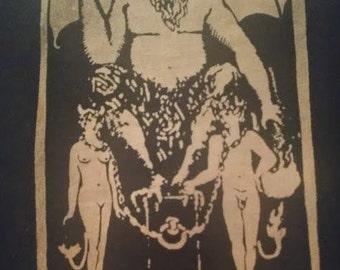 Tarot The Devil Bleach Shirt