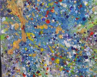 Expressionist Abstract by Ehren Snyder