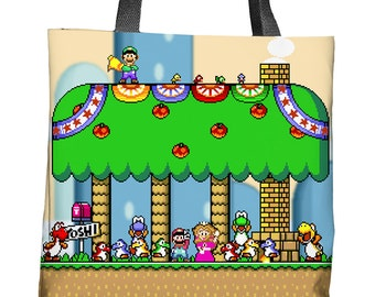 Super Mario World Tote Bag