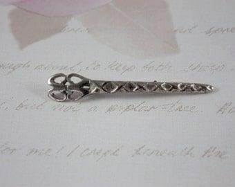Vintage Celtic Dagger Brooch - Scottish Style Brooch - Victorian Style Brooch - Antique Style Dagger Brooch