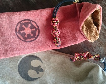 Custom made Lightsaber hilt bags