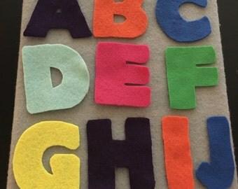 Felt Board Letters A-Z