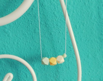 "Necklace of lactation and Teether ""Adara"""