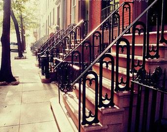 New York City Photo // NYC Photo // Chelsea Brownstone // Home Decor // Wall Art Print // Fine Art Travel Photography //