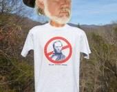 vintage 90s t-shirt CIVIL WAR anti general sherman wtf history tee shirt Medium Large 90s