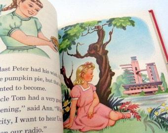 SALE - Vintage Reader - Meet Our Friends - Basic Reader -Children's Book - 1960s - Vintage  Christmas - Old School - Homeschool - Textbook