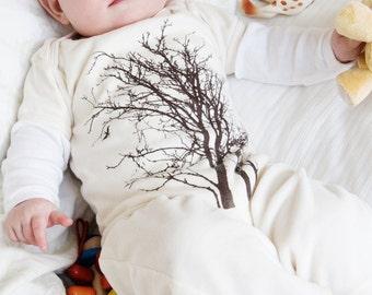Baby Onesie, Organic Baby Clothes, Natural Baby Clothing, Tree Onesie, Organic Baby Clothing, New Baby Gift, Baby Bodysuit, Unisex One Piece