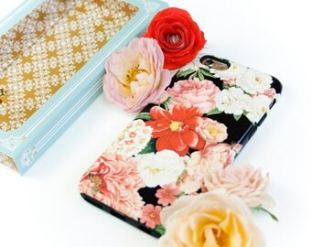 iPhone 6S Case Floral Bunch iPhone SE Case, Flowers iPhone 5S Case, Floral iPhone 6S Plus Case, iPhone 6 Plus Case Gift for Wife
