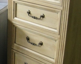 Lingerie Chest Vintage Traditional Style Custom PAINT to ORDER Poppy Cottage Painted Furniture