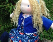 Waldorf Doll 16 Inch Waldorf Inspired Noble Doll Clare