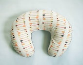 Boppy Cover - Falling Arrow - Personalization Available - Arrow Boppy Cover
