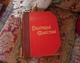 The Columbian Collection, Walter Montgomery 1893, Fine Arts Publishing, Boston, Ma.