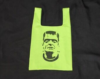 Frankenstein Trick or Treat Bag