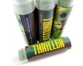 "Spearmint Zombie Lip Balm - ""THRILLER"" - zombie repellant vegan natural candelilla lip tube"