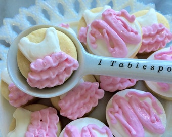5 dozen Ballet Themed Mini Cookie NIbbles
