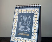 30 Days of Hymns Perpetual Desk Calendar