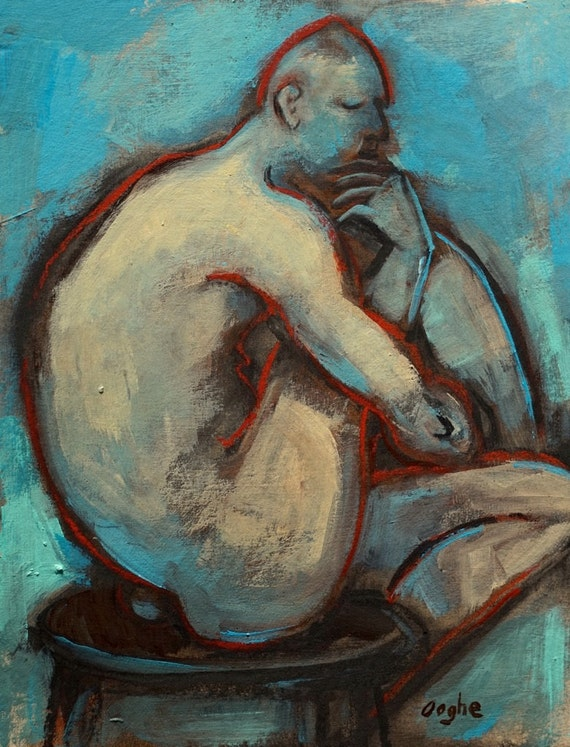 Celebrity Figurative Fine Nude Oil Painting Photos