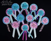 Custom Personalized Birthday Party Pins Frozen Theme