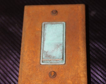 Rustic Iron Lightswitch/Switchplate