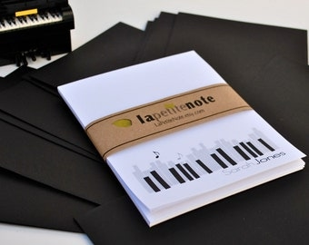Piano Personalized NOTEPAD, Piano Architecture.