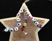 Shining Star Christmas ornament