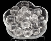 1 Pure Clear Quartz CRYSTAL Mini SPHERE (15 mm) Crystal Marble Collector Quality Gazing Ball Clear Quartz Sphere #QM01