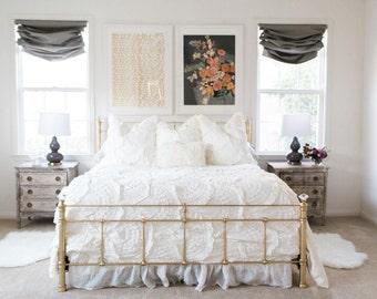 custom relaxed roman shade window treatment blog robert allen linen slub