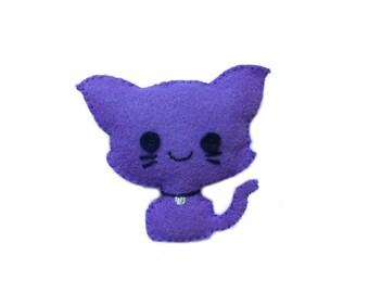 Kitten Plushie, Kitty Kawaii Plush, Cat Plush, Cat Stuffed Toy