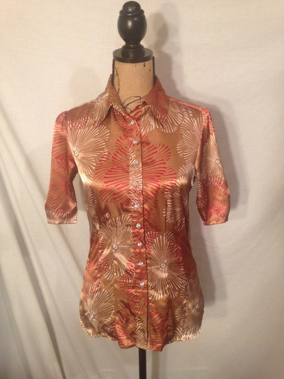 Vintage Short Sleeve Shirt Sale s31
