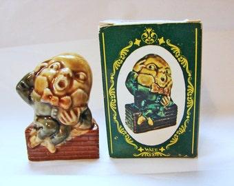 Wade Figurine Humpty Dumpty Wade Nursery Rhyme Figurines Large Wade Whimsies Made in England Wade with Box