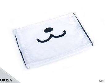 Fashion Panda Kuma Bear Black White Face Mask, Dust Mask, Surgical Mask