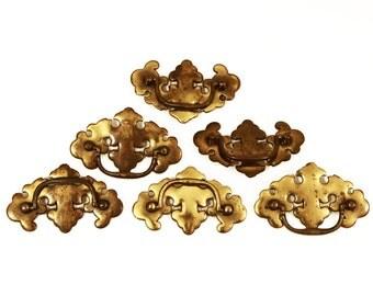 Brass cabinet pulls Etsy