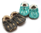 baby arrow shoes, teal arrow, toddler shoes, gray arrow, soft sole shoes, toddler slippers, arrow slippers, vegan baby shoes, arrow clothing