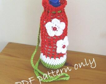 Bottle carrier   Etsy : quilted water bottle holder pattern - Adamdwight.com