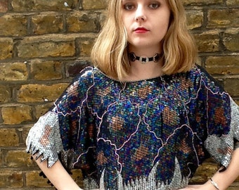 Vintage Sequined festival top