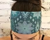Zahra Mandala - Blue - Eco Friendly Yoga Headband