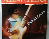 Blues Record - Albert Collins - Cold Snap - 1986 Vinyl LP