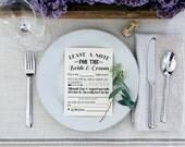 Instant Download Wedding Mad Libs- Guest Book Alternative - Bridal Shower Sign - Wedding Sign - Rustic Wedding Print