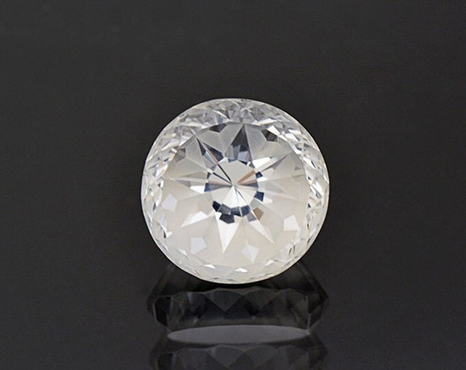 UPRISING SALE! Unique Snowflake Pattern White Topaz Gemstone from Brazil 14.56 cts