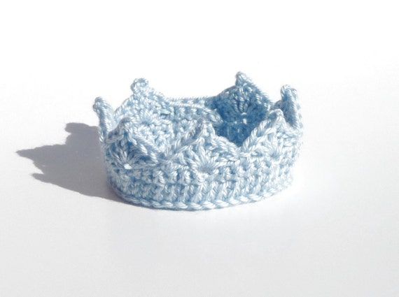 Baby Crown CROCHET PATTERN Headband Baby Boy Clothes Newborn