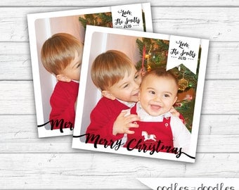 Christmas Gift Tags, Holiday Gifts Tags, Photo Gift Tags, Personalized, Gift Enclosure Cards, Christmas Printables, Printable Gift Tags