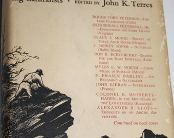 Discovery John K Terres Great moments in the lives of outstanding Naturalists Wood Engravings  First Edition 1961 Printing Thomas W. Nason