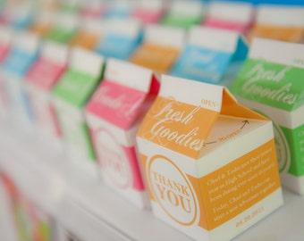 Custom Retro Milk Carton - Digital File