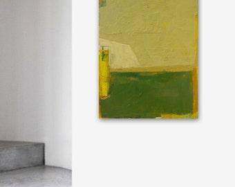 "Abstract oil painting ""Space Y"". Size 39.37/27.5(100/70cm). Unique impasto texture., 201"